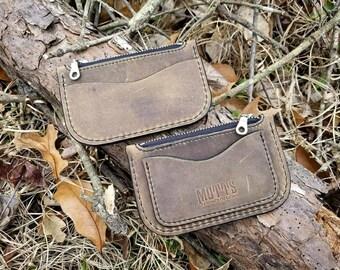 Handcrafted Zipper Wallet