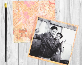 Frida and Diego - Love and Art- Journal / Sketchbook