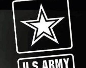 US Army Logo Vinyl Window Decal