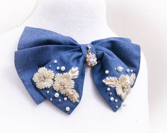 Bow brooch , womans bow, bow tie