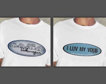 VW Classics T-shirts - OG Legendz Exclusive Designs (2 Pack Gift Bundle or Singles)