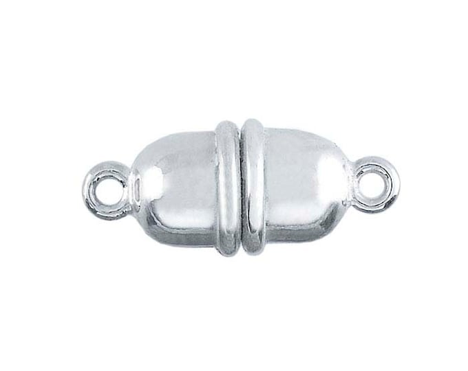 Argentium sterling silver magnetic clasp