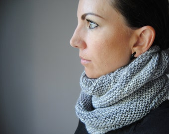 CHROMITE Cowl Knitting Pattern PDF