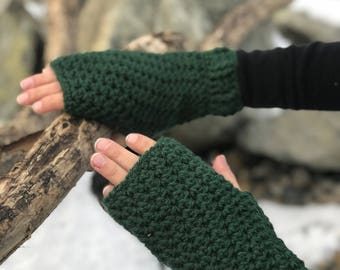 fingerless gloves, mittens, arm warmers, Christmas gifts, gift for her, winter accessories, wrist warmers, winter crochet gloves