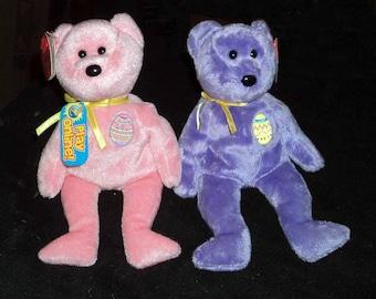 TY Beanie Babies Easter Bears