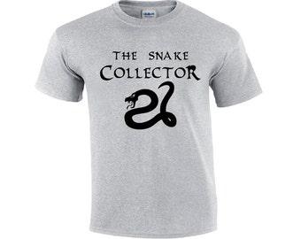The Snake Collector | Snake T-shirt | Snake Owner T-shirt | Funny Snake T-shirt | Mens T-shirt | Snake Shirt | Snake Tee Shirt