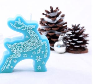 Christmas Reindeer silicone mould for soaps, chocolate, cake decor
