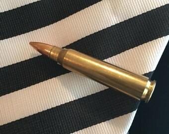 Bullet Tie Clips,  Tie Clips, Men's Tie Clip, Men's Accessories, Groomsmen, Grooms Gifts, Wedding Party Gifts,