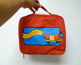 Just Whistle!  . Oscar Mayer promotional lunch box / bag