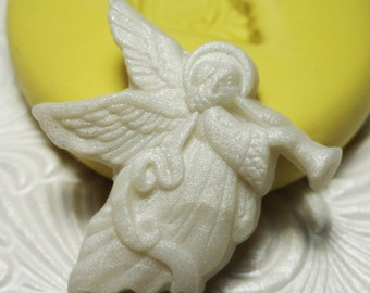 ANGEL Mold Silicone Rubber Push Mold Mould for Resin Wax Fondant Polymer Clay Fimo Ice 3109