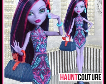 """Monster Doll Haunt Couture: """"Jungle Chic"""" high fashion dress clothes"""