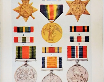British military civil orders decorations emblems medals and ribbons awards Air Force cross war medal Police medal