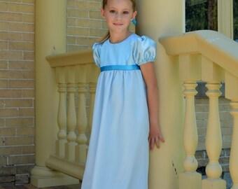 Wendy Darling Costume Girls, Peter Pan Tinkerbell Nightgown