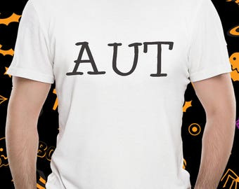 Large Text on tee shirt, Unisex, sizes S to 3XL