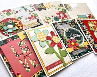 Set of 7 Assorted Cards