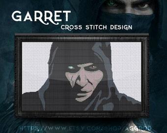 Thief Garret 2-in-1 Game Cross Stitch Digital Pattern
