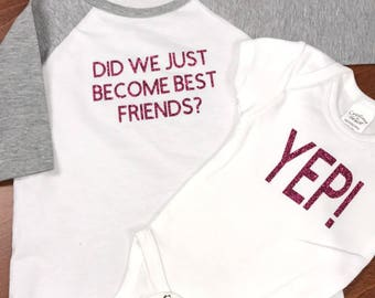 Baby Gender Announcement Shirts