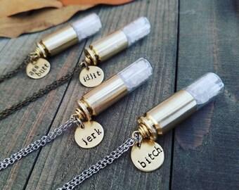 Supernatural - supernatural necklace - supernatural jewelry - supernatural gift set - supernatural charms - supernatural salt necklace