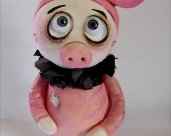 Grimmy in a pig costume doll