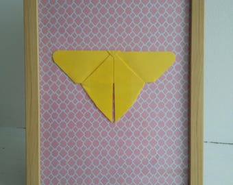 Origami Butterfly frame
