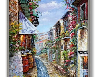 """French Oil Painting 24x36"""" /60x90cm"""