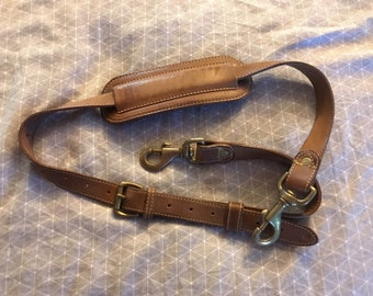 Mulholland Brothers Lariat Leather Strap