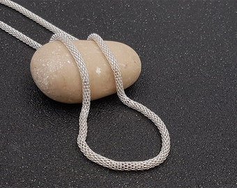 5 m chain snake Silver 3.2 mm