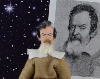 Galileo the Astronomer Collectible Figurine Study of the Stars Astronomy Art