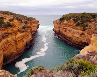 Loch Ard Gorge-ous, Australia, Photography Print, Fine Art, Landscape, Photography, Waterfall, Print, Image, Art, Photo Print, Canvas