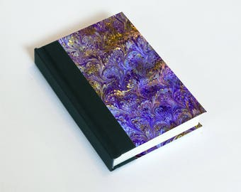 """Sketchbook 4x6"""" with motifs of marbled papers - 3"""