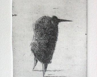 Nose. Original etching
