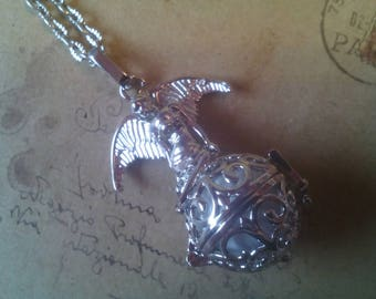Angel Rufer chain with Angel ~ silver ~