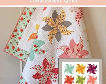 Tumbleweeds Quilt Pattern from Down Grapevine Lane