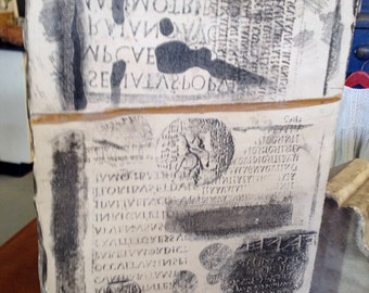 Litho Stone from the Studio of Allen Vogel