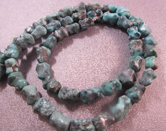 Turquoise Nuggets Beads 49pcs