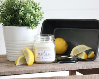 Warm Lemon Loaf   100% Natural Soy Candle   Hand-Poured