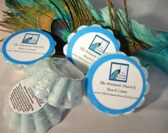 Beach Linen Scented Soy Wax Melting Tarts Aqua