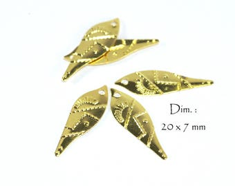 Fine Charms Bohemian Spirit Golden Gold color (30 pcs)