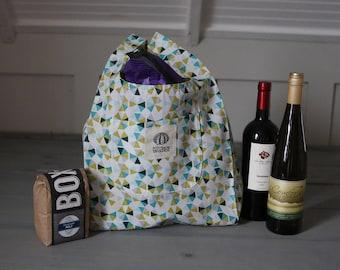 Reusable Shopping Bag, Reusable Grocery Bag, Shopping Tote Bag, Eco Friendly Bag, Cotton Shopping Bag, Market Bag, Organic Cotton, Green