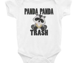 Panda Panda Panda-Infant Bodysuit