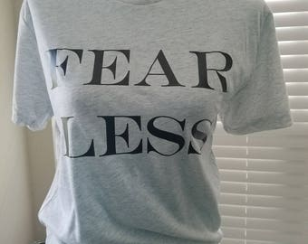 Fear Less; positivity; overcome