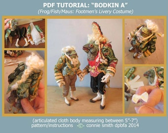PDF Bodkin A Tutorial: Frog, Fish, Maus FULLY COSTUMED Version
