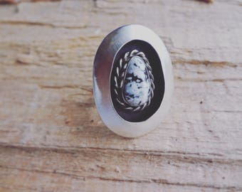 White Buffalo Shadowbox Ring