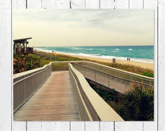 Beach Decor Prints | Beach Photography | Turquoise Sea, Teal Ocean Waves | Beach Pictures | Beach House Wall Art | Beach Theme Gifts |