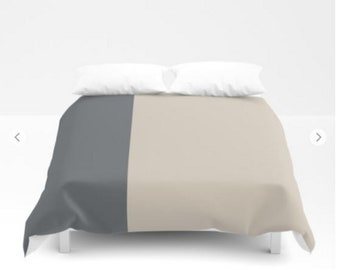 Striped duvet cover - Striped Bedding - FREE Shipping - Sizes, Twin, Full, Queen and Full