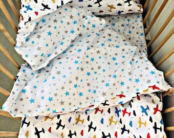 3 pieces bedding set for kids