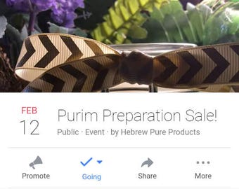 Purim Preparation Sale