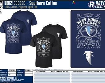 Southern Cotton - Convert Design to Your Own! 72 Piece Minimum