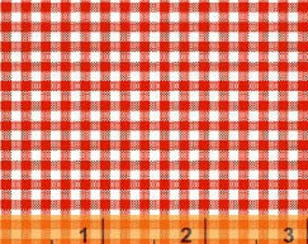 Windham Basics - Brights Small Gingham Red from Windham Fabrics