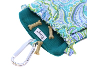 The Pocket 2.0 - Treat and Training Pouch - Paisley